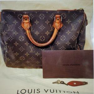 Vintage Louis Vuitton 1987 Speedy Authentic EUC